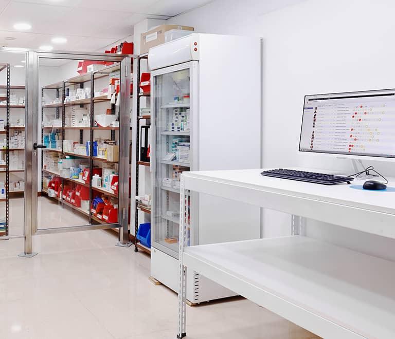 Residencia Matacas servicio de farmacia